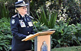 布市警察警員紀念日集會 紀念殉職警員
