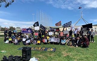 全澳港人代表赴國會 促澳洲政府採取行動