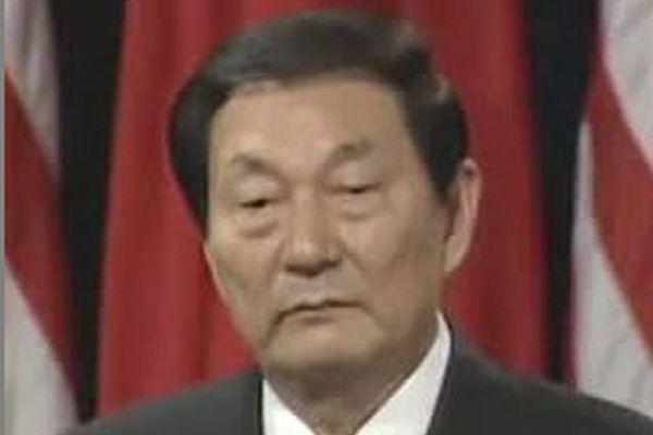 中共十一閱兵 前總理朱鎔基罕見缺席