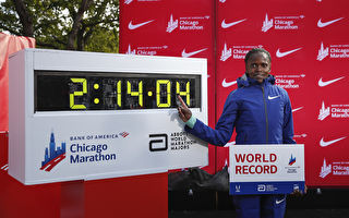 肯尼亚名将破尘封16年女子马拉松世界纪录