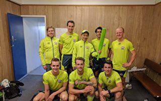 训练耐力 澳洲华男三年几乎跑遍墨尔本