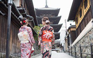 最在地的体验 穿和服逛京都