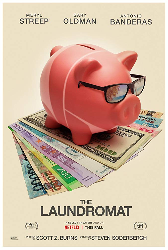 《洗錢天堂網絡》海報。(Netflix提供)