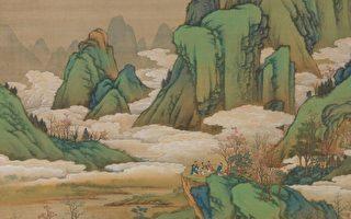 赏金碧山水 度重阳佳节──十二月月令图九月
