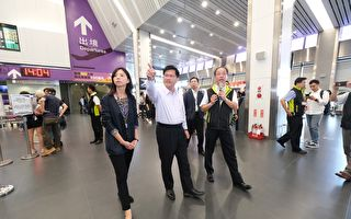 台中機場整建與捷運  林佳龍允中央支持