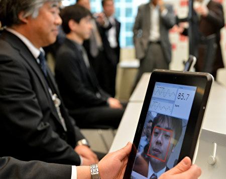 图为人脸识别系统。