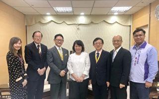 日本中京大学梅村清英理事长一行拜会市府