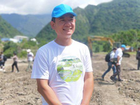 九河局局长谢明昌说,治理鳖溪与社区部落一起共学,恢复溪河原有景观与生态,找回河川的生命力。