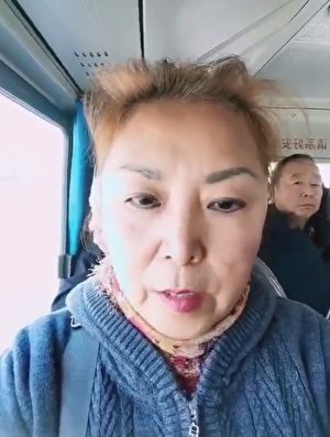 馬波接到駐京辦顧海山的約談電話。前往木須園見面。(影片截圖)