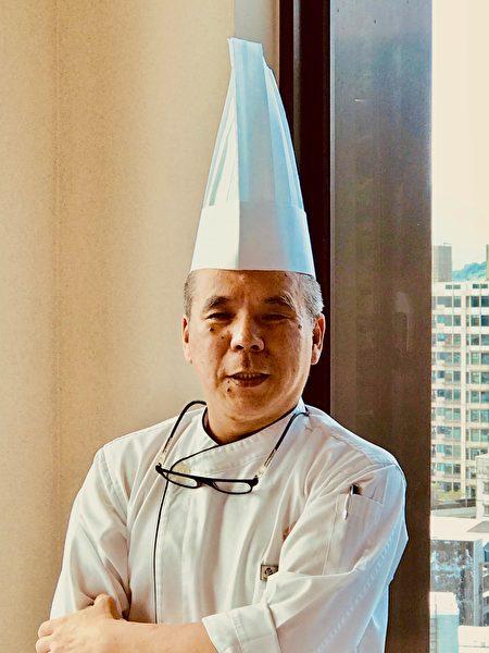 大地酒店行政主厨李昭明。