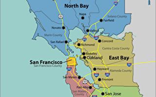 加州灣區發生4.5級地震 舊金山有震感