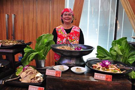 氣派、豐富、美味的客家料理