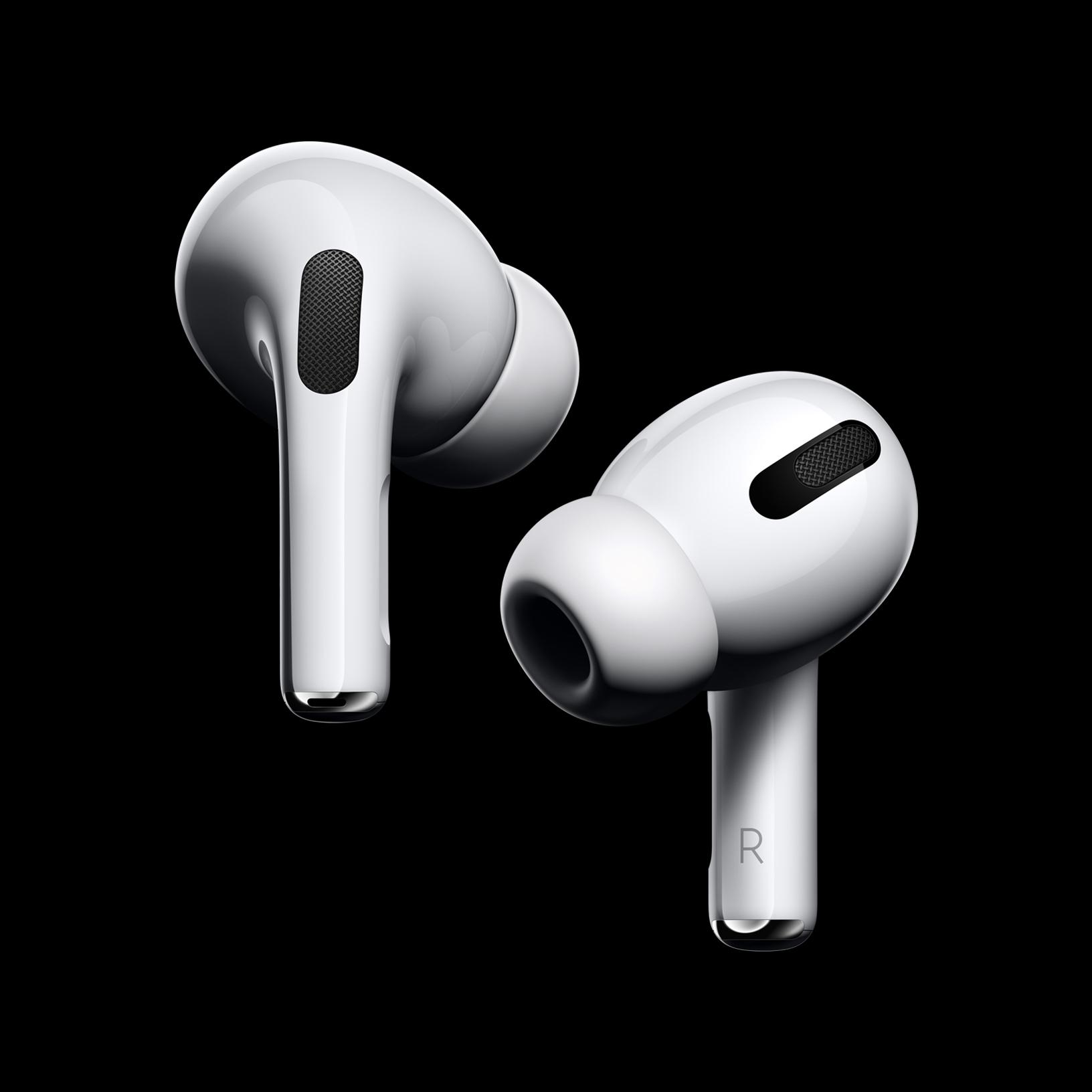 有消息顯示蘋果公司將把AirPods30%的產量移出中國大陸。圖為蘋果新無線耳機AirPods Pro。(蘋果提供)