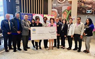 感恩节将至 华人社团向食库捐款