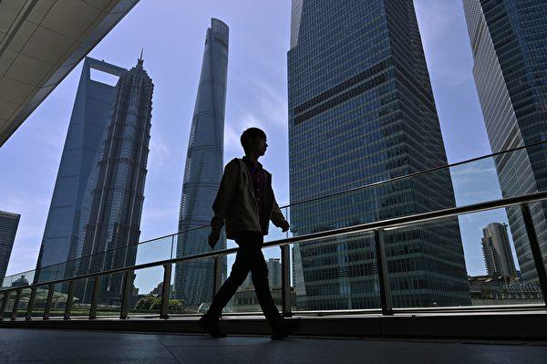 亞洲最昂貴商業區之一的上海陸家嘴2019年Q3空置率達到了16%,遠高於3年前的約3%。(HECTOR RETAMAL/AFP/Getty Images)