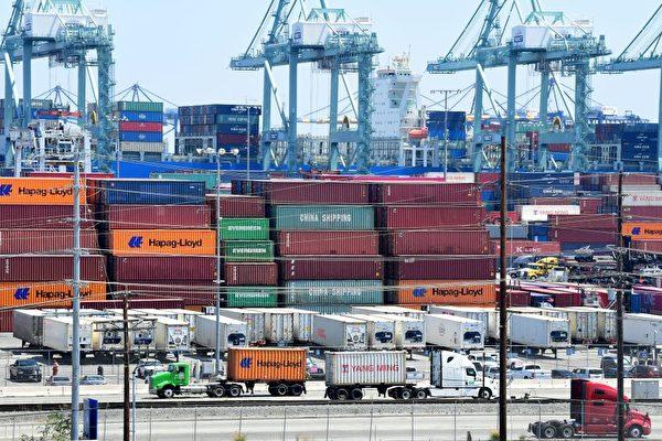 美6月贸易逆差下降 出口创纪录增长
