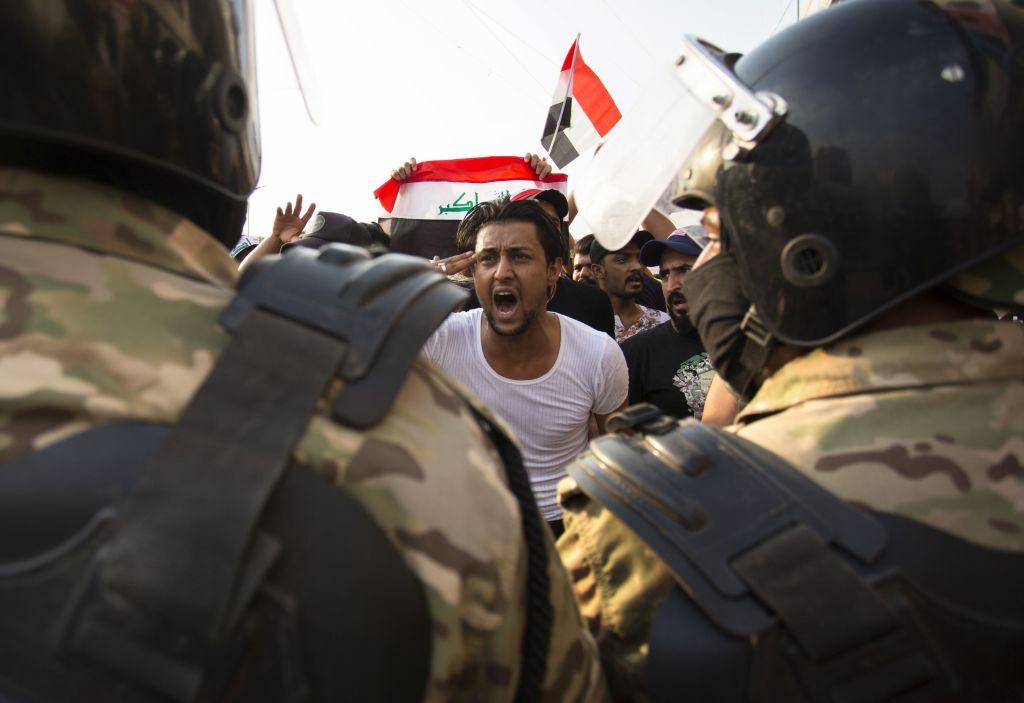 伊拉克大規模反貪示威 5天逾百死六千多人傷