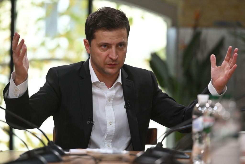 烏克蘭總統:特朗普沒在電話中施壓勒索