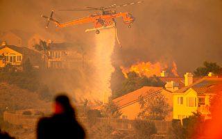 """洛杉矶""""萨德尔里奇大火""""迫10万人逃离"""