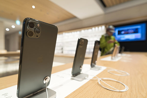 蘋果iPhone 11 Pro和iPhone 11 Pro Max背面有三個獨立鏡頭。(Photo by Tomohiro Ohsumi/Getty Images)