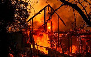 加州野火快速蔓延 近20万人紧急疏散