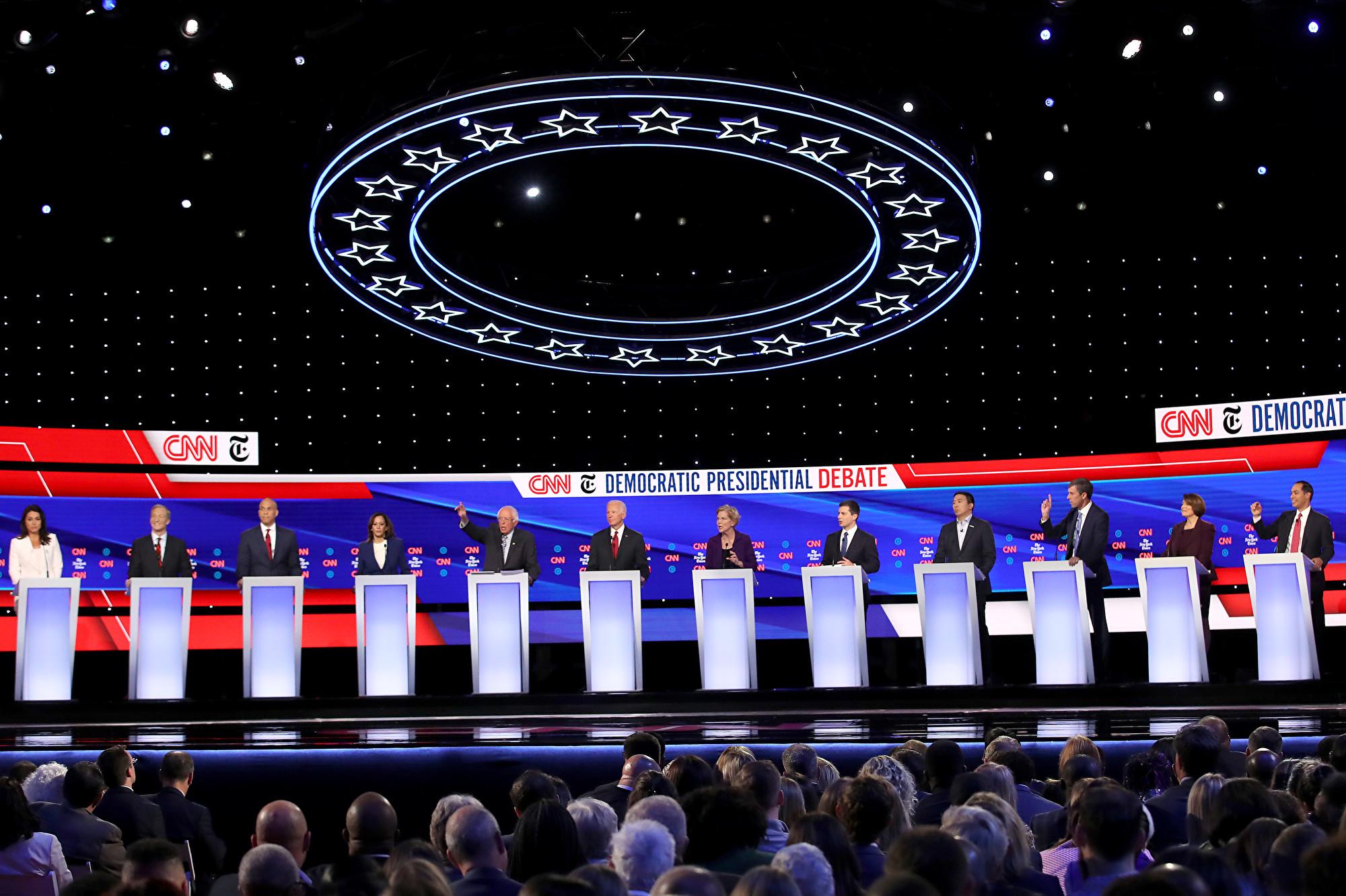 美民主黨初選辯論 主辦方忽略中國議題被批