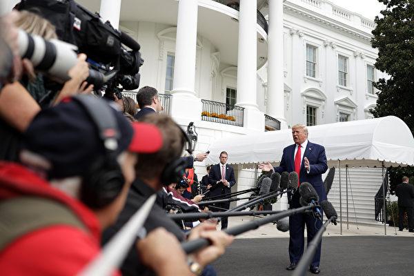 彭斯說美國支持港人 川普:他的演講很好