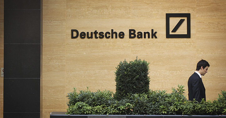 德意志銀行(Deutsche Bank)。(Dan Kitwood/Getty Images)
