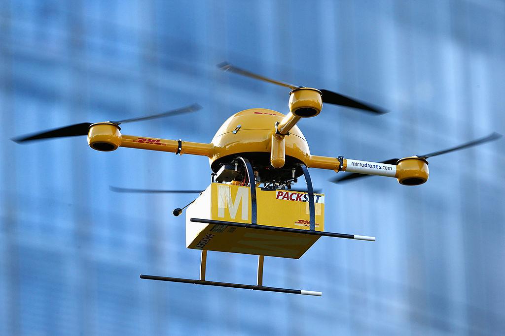谷歌姊妹公司啟用無人機送貨 全美首次