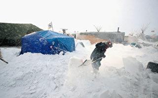 秋季暴风雪将袭击美北部 雪厚或达30英寸