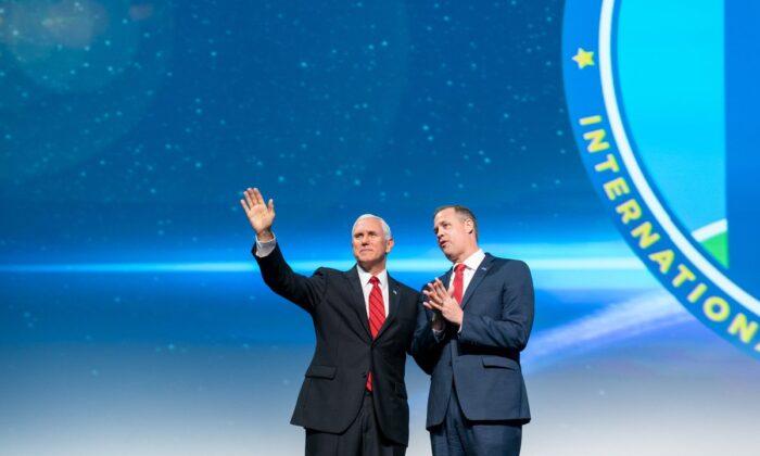 彭斯透露美太空戰略:和熱愛自由國家合作