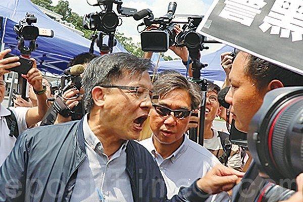 何君堯「殺無赦」涉暴英律師管理局公佈指控