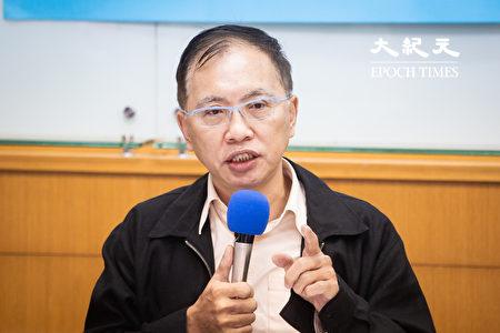 台灣國家政策研究協會諮詢委員董立文。(陳柏州/大紀元)