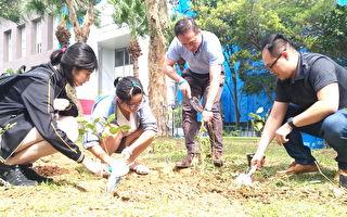 長庚大學校園綠美化第七年  打造屬美麗校園