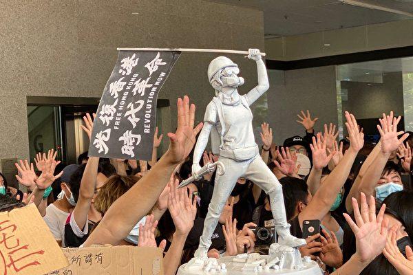 香港六校紧急罢课 声援中枪学生和被捕学生