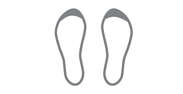 鞋底磨损类型之:鞋头磨损。(三采文化提供)