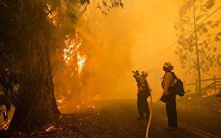 老天垂憐 大風未起  北加州金凱德大火已控30%