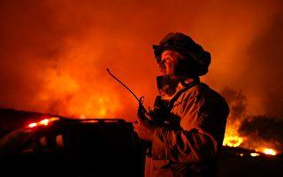 一夜之間蔓延1萬英畝     北加州大火24日上午零可控
