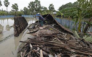 致命气旋袭击孟加拉国和印度 20多人丧命