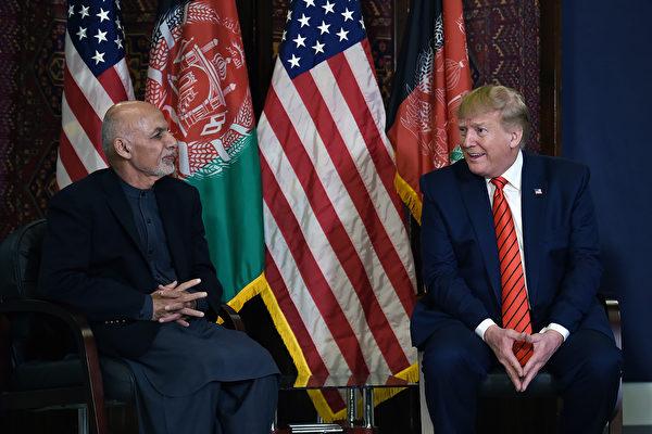 感恩节突访阿富汗 川普宣布恢复塔利班和谈