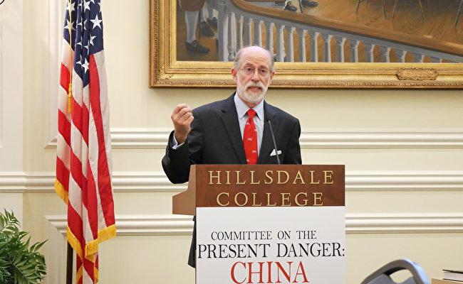 列根總統政府時期的國防部代理助理部長、「應對中共當前危險委員會」(Committee on the Present Danger:China)的副主席蓋夫尼(Frank Gaffney)(李辰/大紀元)