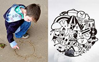 9 歲男孩上課塗鴉被駡翻 現受聘在餐廳畫一面牆