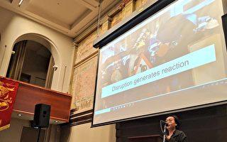 民阵前领袖墨尔本演说:港人抗争关乎世界