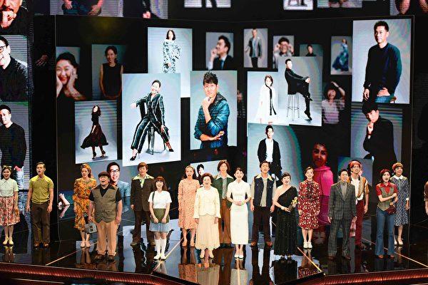 開場現場表演:「有一陣人,追求一個夢」。(台視提供)