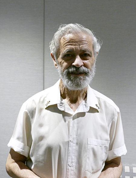 牧師卡魯阿納(Rev Peter Caruana)說中共為獲取器官殺死無辜的人,還編造很多謊言。(安平雅/大紀元)