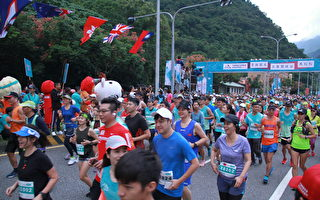 太鲁阁峡谷马拉松   海内外1万5千名参赛
