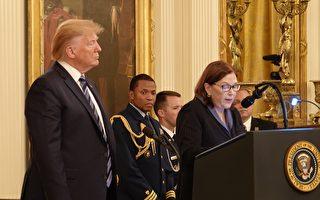 911舍命救2700人 雷斯科拉获川普追授勋章