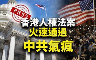 【十字路口】香港人权法火速通过 中共气疯?