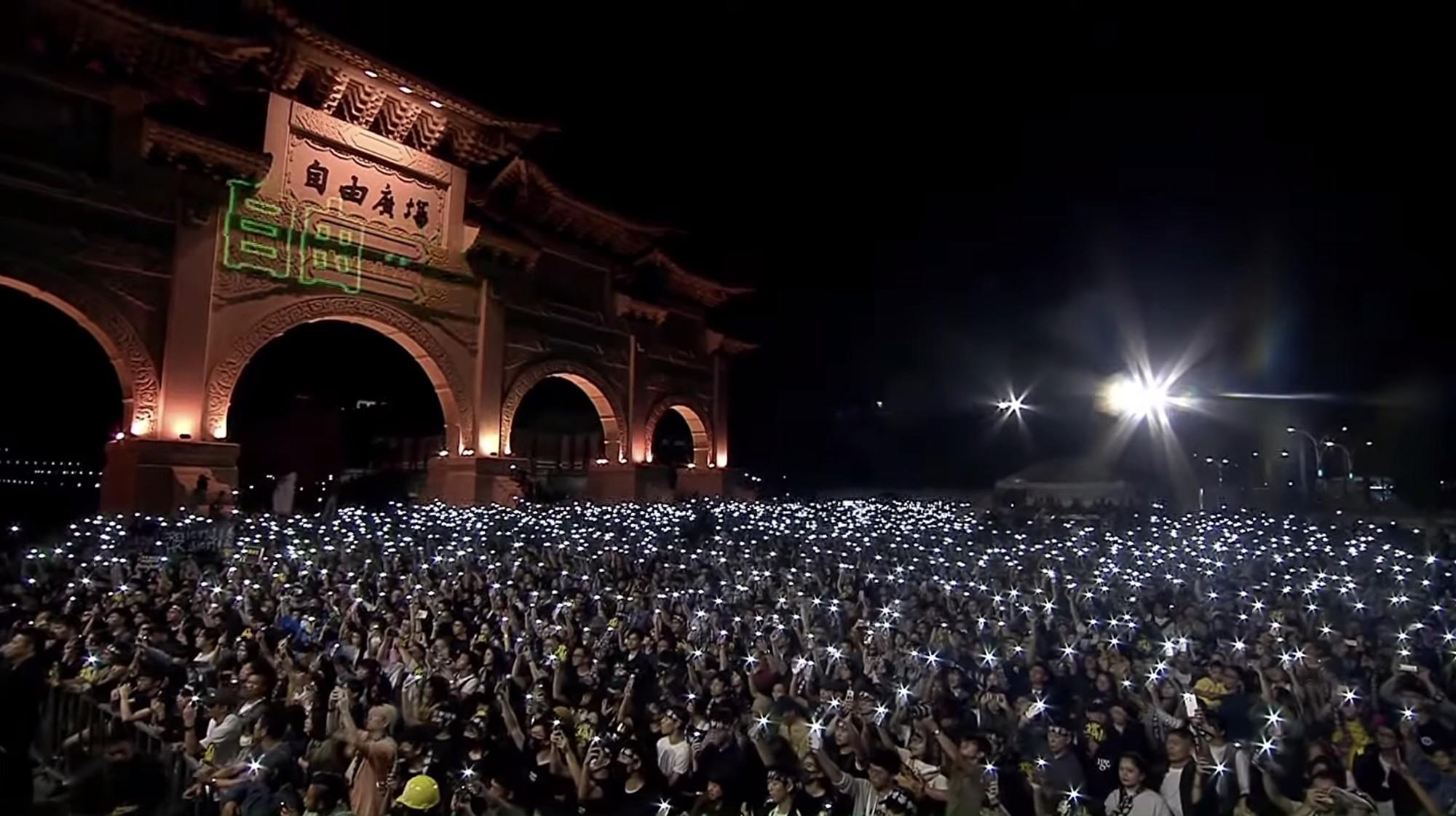 台灣對香港學生提供人道援助 港民感謝