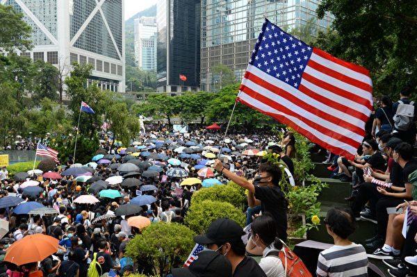 美國會兩院無異議通過香港人權法 歷史罕見